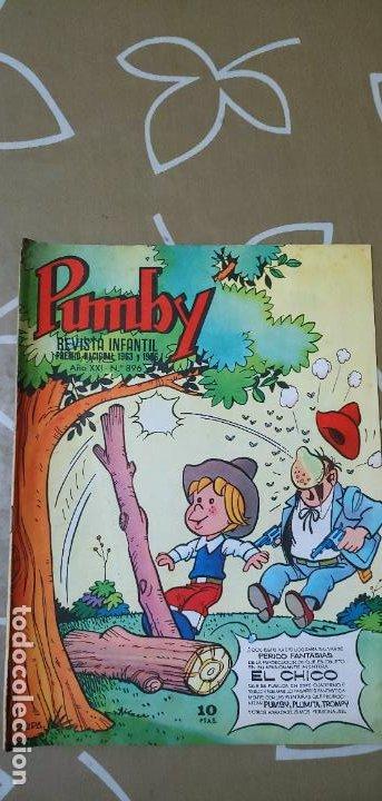 Tebeos: Lote de 83 números de la revista Pumby entre 671 y 974 Editorial Valenciana con Extras y Almanaque - Foto 477 - 186148720