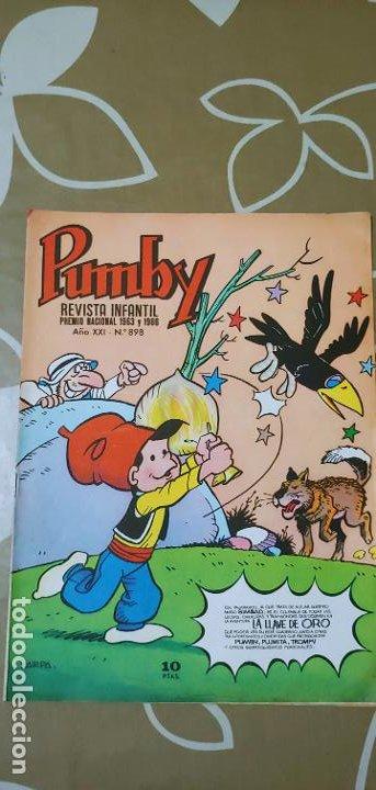 Tebeos: Lote de 83 números de la revista Pumby entre 671 y 974 Editorial Valenciana con Extras y Almanaque - Foto 489 - 186148720
