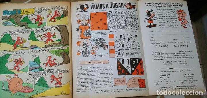 Tebeos: Lote de 83 números de la revista Pumby entre 671 y 974 Editorial Valenciana con Extras y Almanaque - Foto 500 - 186148720