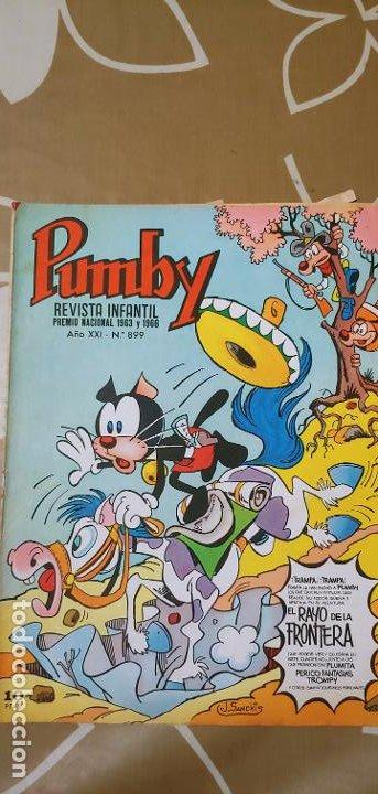 Tebeos: Lote de 83 números de la revista Pumby entre 671 y 974 Editorial Valenciana con Extras y Almanaque - Foto 502 - 186148720