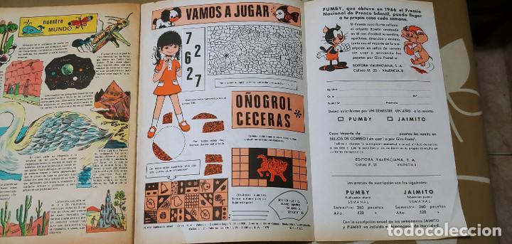 Tebeos: Lote de 83 números de la revista Pumby entre 671 y 974 Editorial Valenciana con Extras y Almanaque - Foto 522 - 186148720