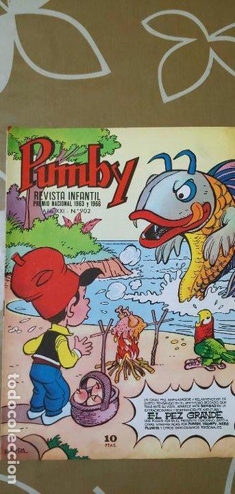 Tebeos: Lote de 83 números de la revista Pumby entre 671 y 974 Editorial Valenciana con Extras y Almanaque - Foto 524 - 186148720