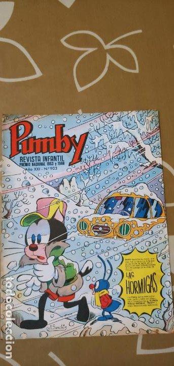 Tebeos: Lote de 83 números de la revista Pumby entre 671 y 974 Editorial Valenciana con Extras y Almanaque - Foto 536 - 186148720