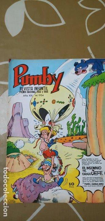 Tebeos: Lote de 83 números de la revista Pumby entre 671 y 974 Editorial Valenciana con Extras y Almanaque - Foto 548 - 186148720