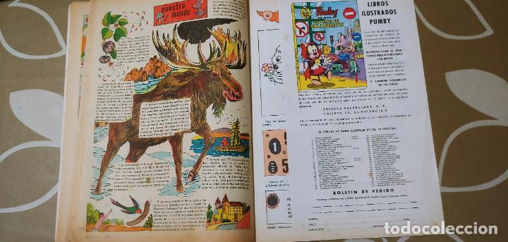 Tebeos: Lote de 83 números de la revista Pumby entre 671 y 974 Editorial Valenciana con Extras y Almanaque - Foto 558 - 186148720