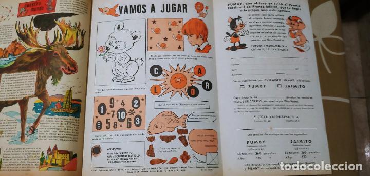 Tebeos: Lote de 83 números de la revista Pumby entre 671 y 974 Editorial Valenciana con Extras y Almanaque - Foto 559 - 186148720