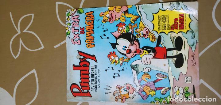 Tebeos: Lote de 83 números de la revista Pumby entre 671 y 974 Editorial Valenciana con Extras y Almanaque - Foto 587 - 186148720