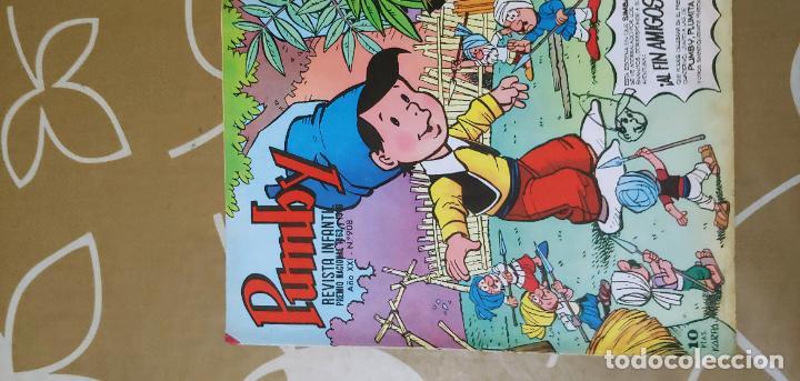 Tebeos: Lote de 83 números de la revista Pumby entre 671 y 974 Editorial Valenciana con Extras y Almanaque - Foto 606 - 186148720