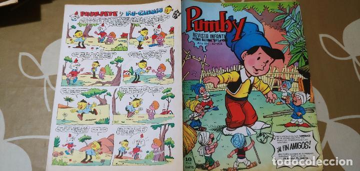 Tebeos: Lote de 83 números de la revista Pumby entre 671 y 974 Editorial Valenciana con Extras y Almanaque - Foto 607 - 186148720