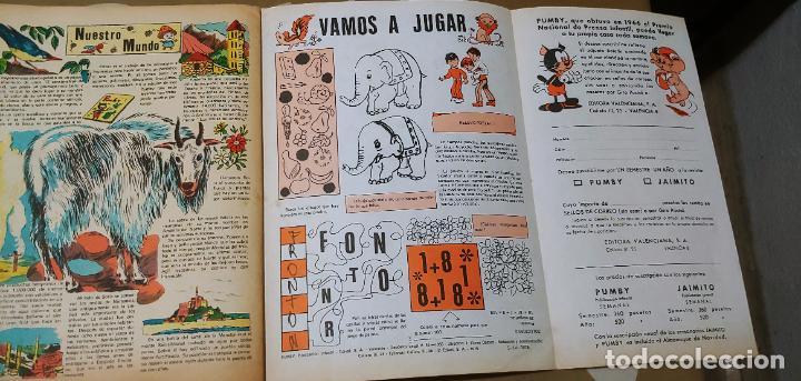 Tebeos: Lote de 83 números de la revista Pumby entre 671 y 974 Editorial Valenciana con Extras y Almanaque - Foto 618 - 186148720