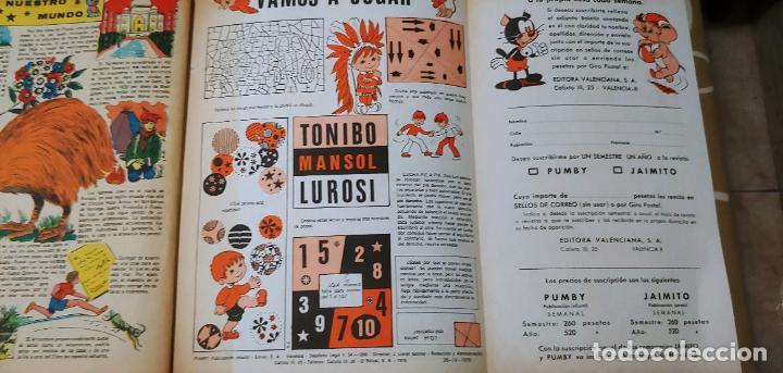 Tebeos: Lote de 83 números de la revista Pumby entre 671 y 974 Editorial Valenciana con Extras y Almanaque - Foto 656 - 186148720
