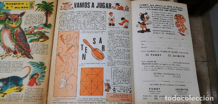 Tebeos: Lote de 83 números de la revista Pumby entre 671 y 974 Editorial Valenciana con Extras y Almanaque - Foto 693 - 186148720