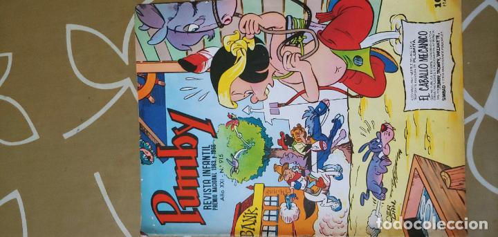 Tebeos: Lote de 83 números de la revista Pumby entre 671 y 974 Editorial Valenciana con Extras y Almanaque - Foto 695 - 186148720