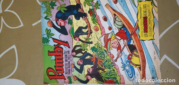 Tebeos: Lote de 83 números de la revista Pumby entre 671 y 974 Editorial Valenciana con Extras y Almanaque - Foto 719 - 186148720