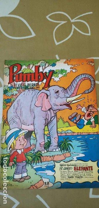 Tebeos: Lote de 83 números de la revista Pumby entre 671 y 974 Editorial Valenciana con Extras y Almanaque - Foto 744 - 186148720