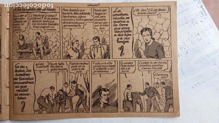 Tebeos: ROBERTO ALCAZAR Y PEDRIN ORIGINAL Nº 100 HOMBRE DIABÓLICO - VALENCIANA - Foto 6 - 186181625
