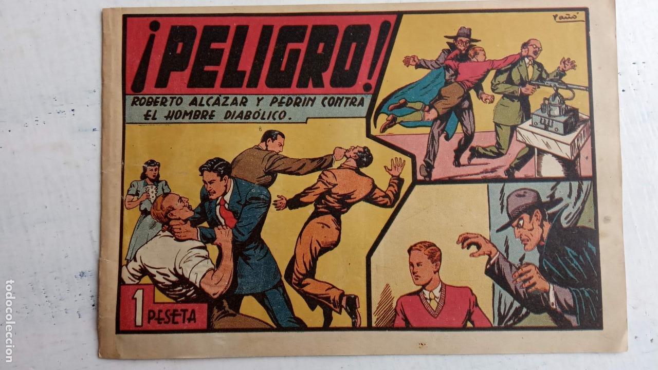 ROBERTO ALCAZAR Y PEDRIN ORIGINAL Nº 100 HOMBRE DIABÓLICO - VALENCIANA (Tebeos y Comics - Valenciana - Roberto Alcázar y Pedrín)