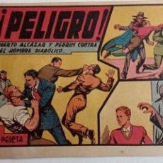 Tebeos: ROBERTO ALCAZAR Y PEDRIN ORIGINAL Nº 100 HOMBRE DIABÓLICO - VALENCIANA. Lote 186181625