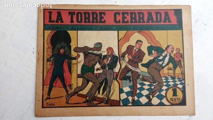 ROBERTO ALCAZAR Y PEDRIN ORIGINAL Nº 116 SERIE HOMBRE DIABÓLICO (Tebeos y Comics - Valenciana - Roberto Alcázar y Pedrín)