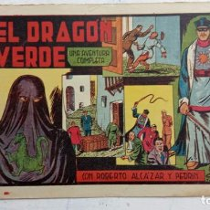 Tebeos: ROBERTO ALCAZAR Y PEDRIN ORIGINAL Nº 210 - MUY NUEVO, EL DRAGON VERDE. Lote 186183175