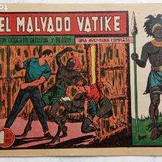 Tebeos: ROBERTO ALCAZAR Y PEDRIN ORIGINAL Nº 205 - EL MALVADO VATIKE. Lote 186184142