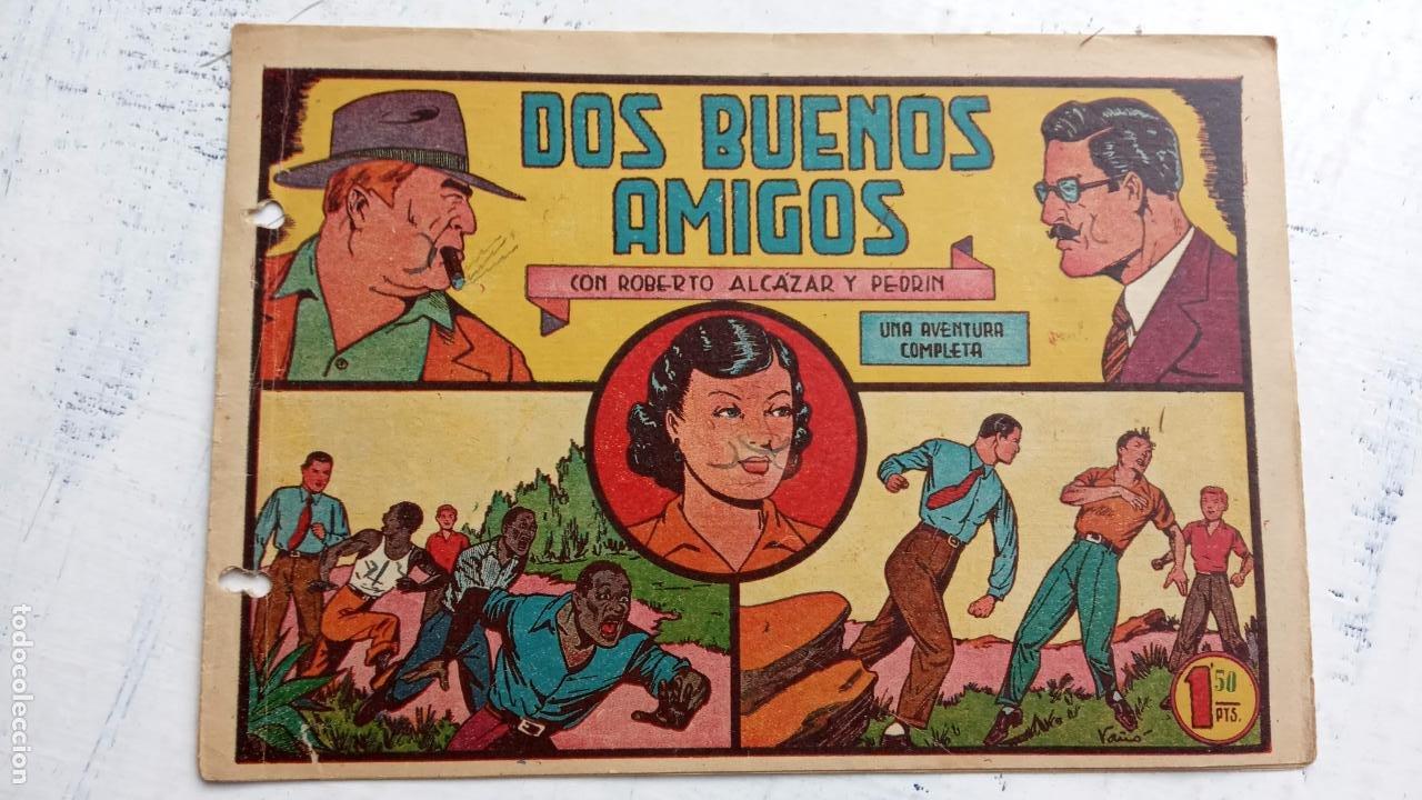 ROBERTO ALCAZAR Y PEDRIN ORIGINAL Nº 198 - DOS BUENOS AMIGOS (Tebeos y Comics - Valenciana - Roberto Alcázar y Pedrín)