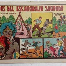 Tebeos: ROBERTO ALCAZAR Y PEDRIN ORIGINAL Nº 187 - LOS OJOS DEL ESCARABAJO SAGRADO. Lote 186187087