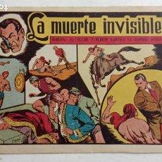 Tebeos: ROBERTO ALCAZAR Y PEDRIN ORIGINAL Nº 118 - CON EL HOMBRE DIABÓLICO - LA MUERTE INVISIBLE. Lote 186269926