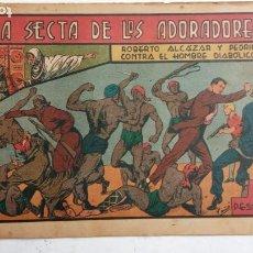 Tebeos: ROBERTO ALCAZAR Y PEDRIN ORIGINAL Nº 117 SERIE HOMBRE DIABÓLICO - LA SECTA DE LOS ADORADORES. Lote 186270148