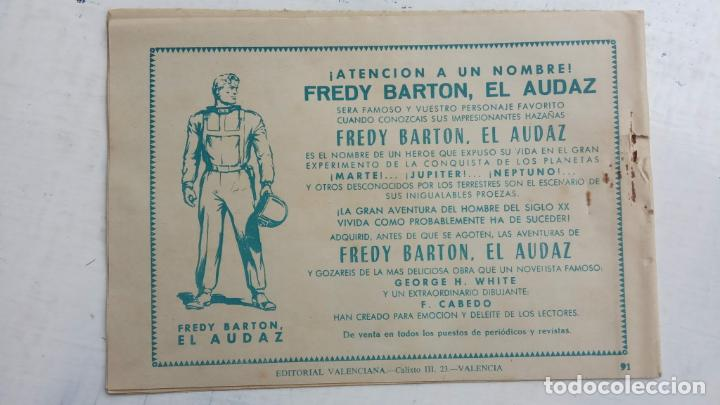 Tebeos: ROBERTO ALCAZAR Y PEDRIN ORIGINAL Nº 91 - RATAS DE HOTEL - MUY BIEN CONSERVADO - Foto 2 - 186271257