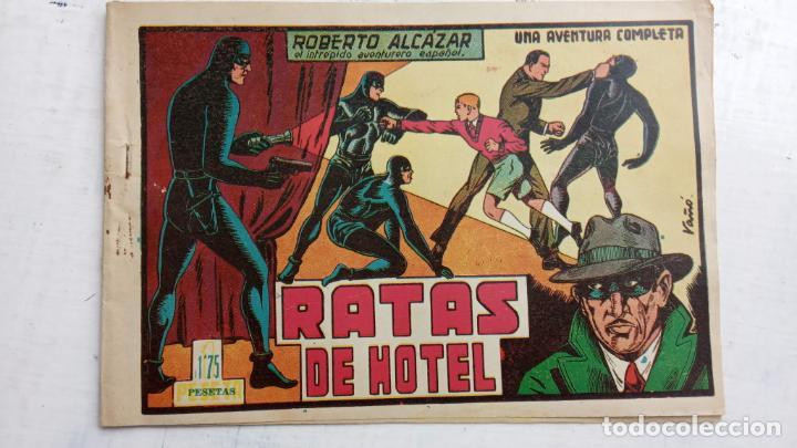 ROBERTO ALCAZAR Y PEDRIN ORIGINAL Nº 91 - RATAS DE HOTEL - MUY BIEN CONSERVADO (Tebeos y Comics - Valenciana - Roberto Alcázar y Pedrín)