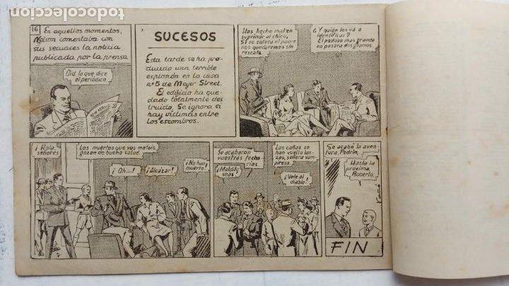 Tebeos: ROBERTO ALCAZAR Y PEDRIN ORIGINAL Nº 81 - EL RELOJ DE LA MUERTE - MUY BUEN ESTADO - Foto 4 - 186271740
