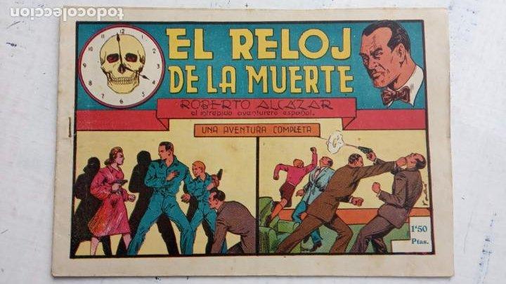ROBERTO ALCAZAR Y PEDRIN ORIGINAL Nº 81 - EL RELOJ DE LA MUERTE - MUY BUEN ESTADO (Tebeos y Comics - Valenciana - Roberto Alcázar y Pedrín)