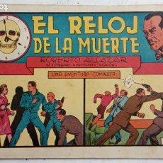 Tebeos: ROBERTO ALCAZAR Y PEDRIN ORIGINAL Nº 81 - EL RELOJ DE LA MUERTE - MUY BUEN ESTADO. Lote 186271740