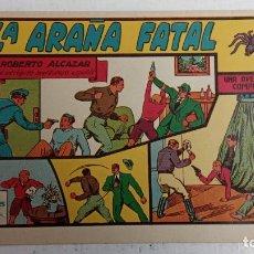 Tebeos: ROBERTO ALCAZAR Y PEDRIN ORIGINAL Nº 54 - LA ARAÑA FATAL - MUY BUEN STADO. Lote 186272575