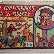 Tebeos: ROBERTO ALCAZAR Y PEDRIN ORIGINAL Nº 49 - EL CONTRABANDO DE LA MUERTE. Lote 186273291