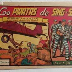 Tebeos: ROBERTO ALCAZAR Y PEDRIN ORIGINAL Nº 47 - LOS PIRATAS DE SING-SING. Lote 186273465