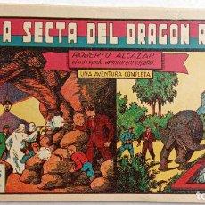 Tebeos: ROBERTO ALCAZAR Y PEDRIN ORIGINAL Nº 44 - LA SECTA DEL DRAGÓN ROJO - MUY BUEN ESTADO. Lote 186273573