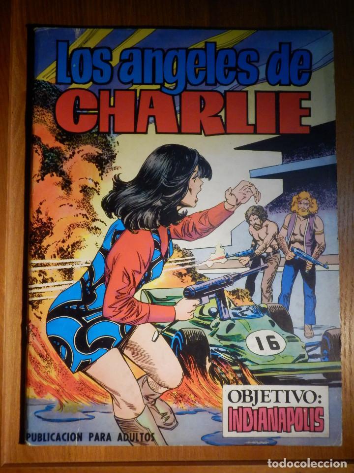 LOS ANGELES DE CHARLIE - OBJETIVO INDIANAPOLIS - Nº 4 - EDIPRINT 1979 - (Tebeos y Comics - Valenciana - Otros)