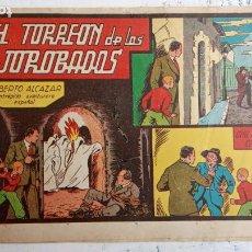 Tebeos: ROBERTO ALCAZAR Y PEDRIN ORIGINAL Nº 28 - EL TORREÓN DE LOS JOROBADOS. Lote 186318175