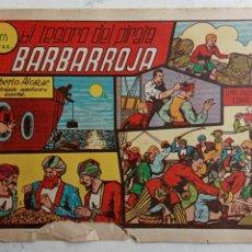 Tebeos: ROBERTO ALCAZAR Y PEDRIN ORIGINAL Nº 22 - EL TESORO DEL PIRATA BARBAROJA. Lote 186319062