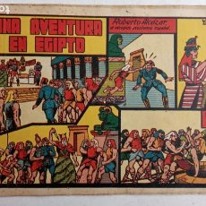 Tebeos: ROBERTO ALCAZAR Y PEDRIN ORIGINAL Nº 21 - UNA AVENTURA EN EGIPTO. Lote 186319480