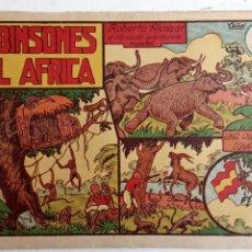 Tebeos: ROBERTO ALCAZAR Y PEDRIN ORIGINAL Nº 20 - ROBINSONES DEL AFRICA. Lote 186319936