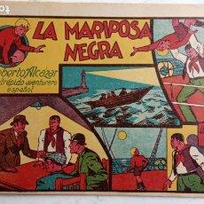 Tebeos: ROBERTO ALCAZAR Y PEDRIN ORIGINAL Nº 11 - LA MARIPOSA NEGRA - MUY NUEVO. Lote 186320957