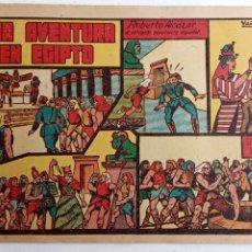 Tebeos: ROBERTO ALCAZAR Y PEDRIN ORIGINAL Nº 21 - UNA AVENTURA EN EGIPTO. Lote 186321801