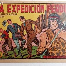 Tebeos: ROBERTO ALCAZAR Y PEDRIN ORIGINAL Nº 225 - LA EXPEDICIÓN PERDIDA - MUY BIEN CONSERVADO. Lote 186355673