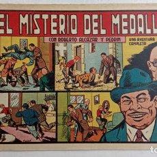 BDs: ROBERTO ALCAZAR Y PEDRIN ORIGINAL Nº 235 - EL MISTERIO DEL MEDALLÓN - MUY BUEN ESTADO. Lote 186356908