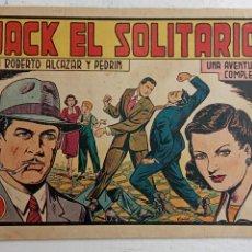 Tebeos: ROBERTO ALCAZAR Y PEDRIN ORIGINAL Nº 242 - JACK EL SOLITARIO. Lote 186357202