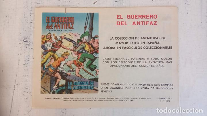 Tebeos: ZOLTAN EL CÍNGARO ORIGINAL Nº 1203 - EL MILLONARIO - como nuevo - Foto 2 - 186361382