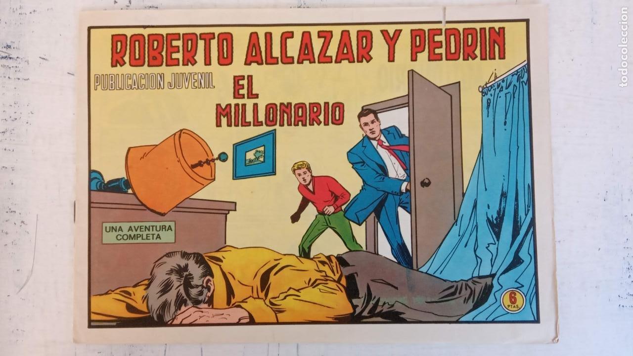 ZOLTAN EL CÍNGARO ORIGINAL Nº 1203 - EL MILLONARIO - COMO NUEVO (Tebeos y Comics - Valenciana - Roberto Alcázar y Pedrín)
